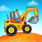 Truck games for kids – build a house, car wash (mod) 4.0.13