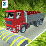 3D Truck Driving Simulator Real Driving Games   (mod) 2.0.046