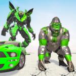 Gorilla Robot Car Game – Transform War Robot Games (mod) 2.0