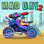 Mad Day 2: Shoot the Aliens (mod) 2.0