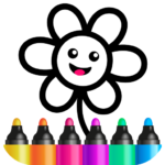 Toddler Drawing Academy🎓 Coloring Games for Kids (mod) 1.4.3.2