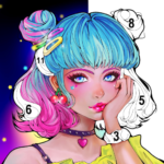 Sweet Coloring Color by Number Painting Game  1.0.31 (mod)