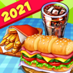 Hell's Cooking: crazy burger, kitchen fever tycoon (mod) 1.43