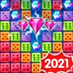 Jewel Games 2020 – Dice Merge Jewels & Gems Crush (mod) 1.4.14