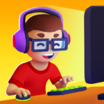 Idle Streamer Tuber game. Get followers tycoon  1.10 (mod)