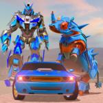 Rhino Robot Car Transformation: Robot City battle (mod) 0.6