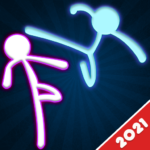 Stickman Fighting: 2 Player Funny Physics Games  1.9 (mod)
