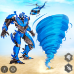 Tornado Robot games-Hurricane Robot Transform Wars   (mod) 1.2.6