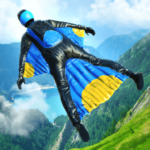 Base Jump Wing Suit Flying (mod) 0.9