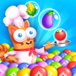 Kitten Games – Bubble Shooter Cooking Game (mod) 1.2
