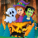 Halloween Puzzle for kids & toddlers 🎃 (mod) 2021.39