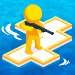 War of Rafts Crazy Sea Battle  0.22.1 (mod)