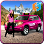 New York Taxi Duty Driver: Pink Taxi Games 2018 (mod)