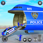 Grand Police Cargo Transport Truck:Car Parking Sim (mod)
