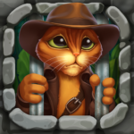Indy Cat 2: Match 3 free game – jigsaw, puzzles (mod)