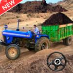New Tractor trolley Farming Cargo Driver 3D (mod)
