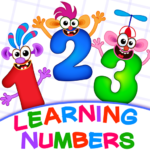 Learning numbers for kids! Writing Counting Games! (mod)