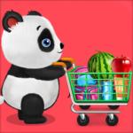 Panda Supermarket Shop – Fun Shopping Mania (mod)