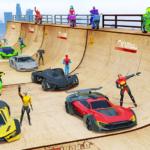 SuperHero Mega Ramp: Car Games (mod)
