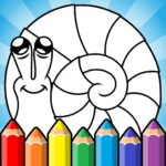 Easy coloring pages for kids (mod)