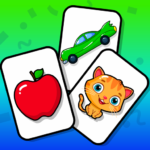 Flashcards Toddler Games for 2 and 3 Year Olds (mod)