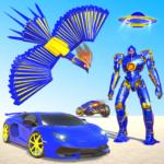Flying Police Phoenix Robot Game (mod)